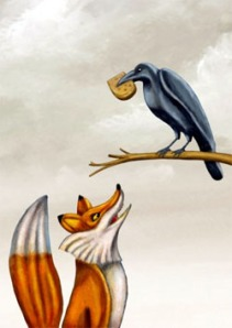 Crow and Fox