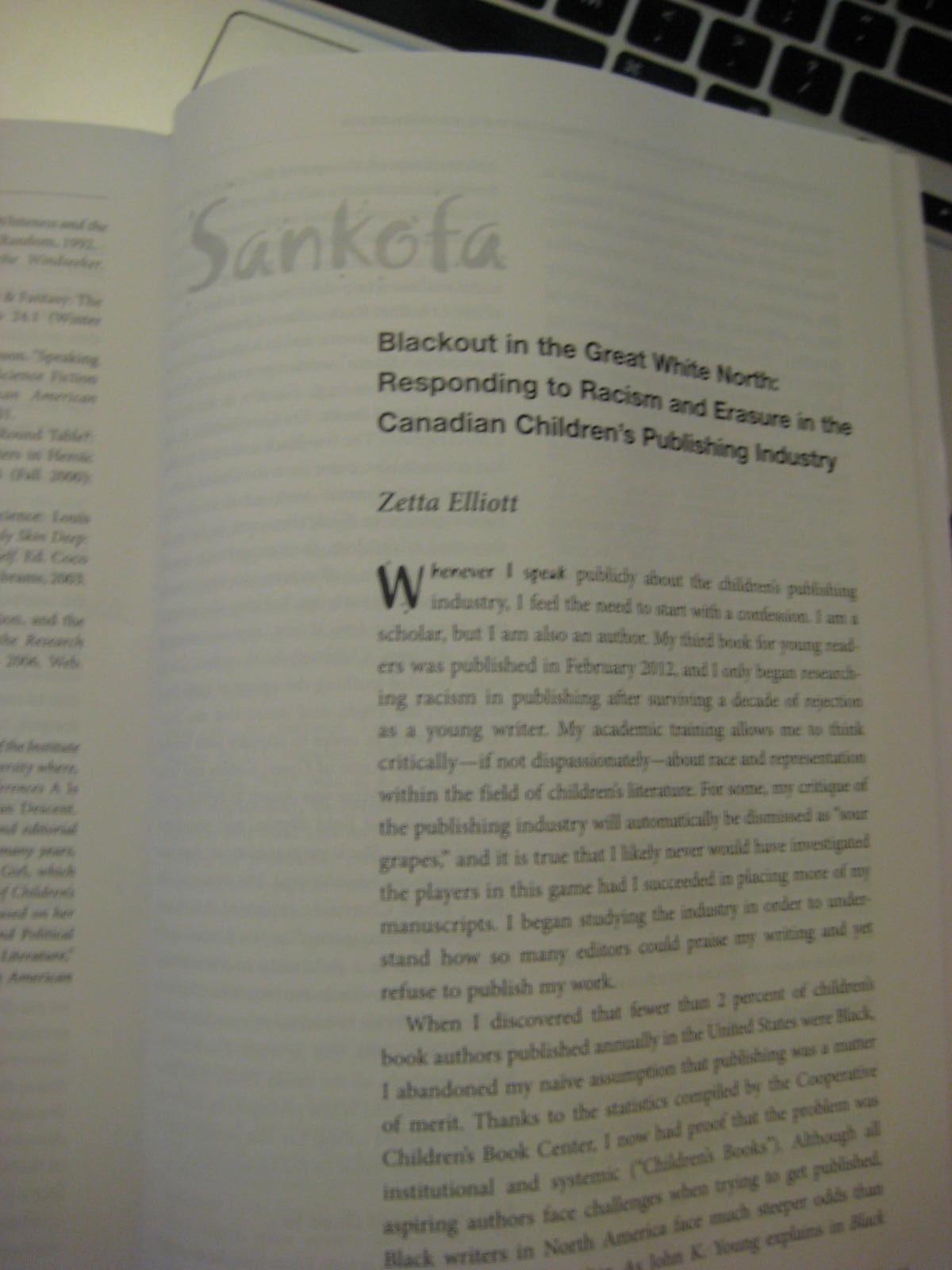 essay about sankofa